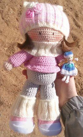 Кукла Куколка с куколкой в Stranamasterov.by Беларусь.