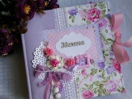 Фотоальбом для девочки Эвелина в Stranamasterov.by Беларусь.