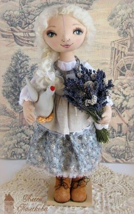 Интерьерная кукла Кукла Пастушка Жюли в Stranamasterov.by Беларусь.