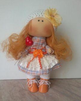 Текстильная куколка Соня в Stranamasterov.by Беларусь.