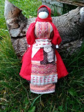 Народная кукла мотанка Успешница (большая) в Stranamasterov.by Беларусь.