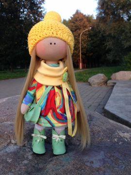 Текстильная кукла Интерьерная кукла в Stranamasterov.by Беларусь.