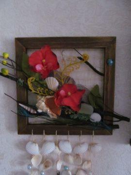 Коллаж флористический Дикая орхидея в Stranamasterov.by Россия.