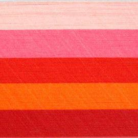 Бумага для квиллинга, ассорти, 5 цветов, 5мм, упак./250 л. 0046 красный, 80гр Россия.
