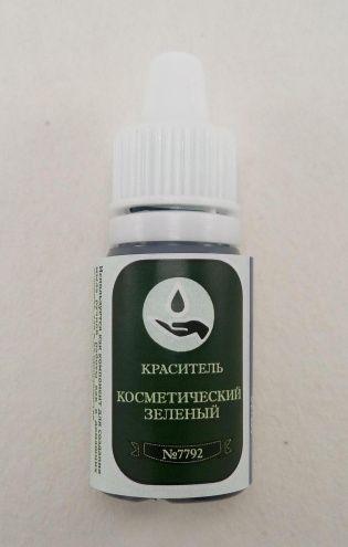 Краситель Vert Covarine (зелёный) (капельница 10г) Россия.