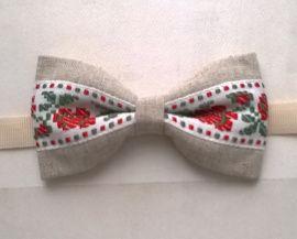 Галстук-бабочка Белорусская в Stranamasterov.by Беларусь.