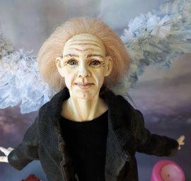 Кукла из полимерной глины Ангел Скеллиг в Stranamasterov.by Беларусь.