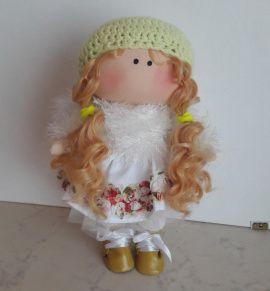 Текстильная кукла Ангелочек в Stranamasterov.by Россия.