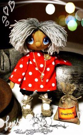 Интерьерная кукла Кузя-домовой или Хозяюшко в Stranamasterov.by Беларусь.