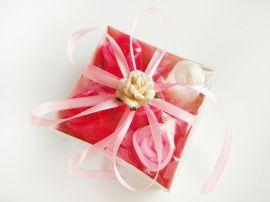 Набор мыла в коробке 5 шт Розовые розы в Stranamasterov.by Россия.