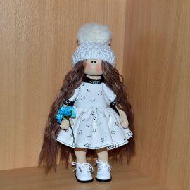 Интерьерная кукла Романтичная Кучеряшка в Stranamasterov.by Беларусь.
