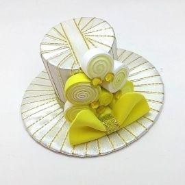 Шляпка Лимонная конфетка в Stranamasterov.by Беларусь.