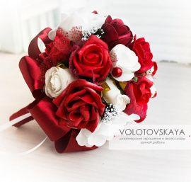 Букет Свадебный букет-дублер - подарок ручной работы на свадьбу Беларусь.