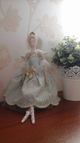 Кукла-тильда Балерина в Stranamasterov.by Беларусь.