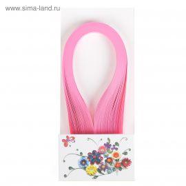 """Полоски для квиллинга """"Ярко-розовые"""" набор 120 полосок ширина 1см длина 39см Россия."""