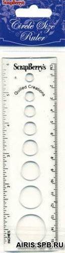 Линейка-шаблон для квиллинга 680032, SCB2026223 Россия.