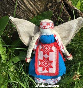 Кукла мотанка Ангел в Stranamasterov.by Беларусь.