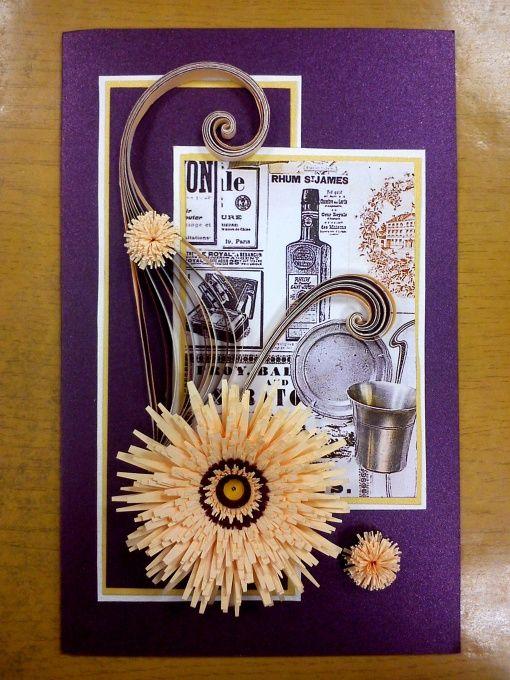 Февраля поздравлениями, открытки для мужчин в стиле квиллинг