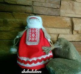 Сувенир Народная кукла в Stranamasterov.by Беларусь.