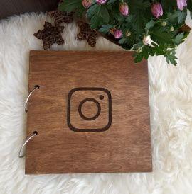 Деревянный фотоальбом Instagram в Stranamasterov.by Беларусь.