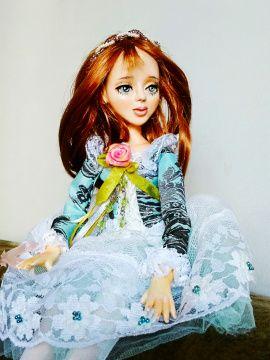 Коллекционная кукла Франсуаза в Stranamasterov.by Беларусь.