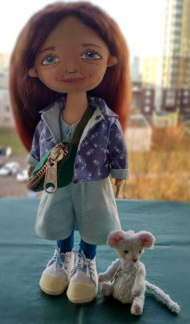 Портретная кукла Кукла по фото в Stranamasterov.by Беларусь.