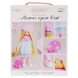 """Интерьерная кукла """"Клэр"""", набор для шитья, 18*22.5*3см, 3548672 Россия."""