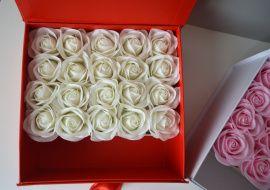 Коробка с цветами Цветочная шкатулка в Stranamasterov.by Беларусь.