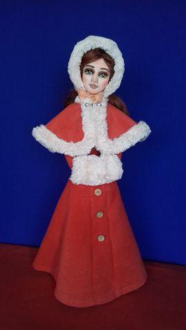 Авторская кукла Анастасия в Stranamasterov.by Беларусь.