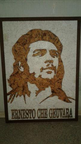 Пробковая картина ЧЕ в Stranamasterov.by Россия.