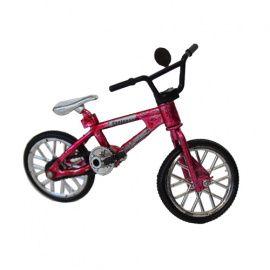 Велосипед кукольный, 10*5см, красный Россия.