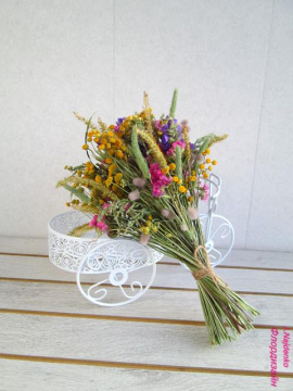 Букет эко Полевые цветы в Stranamasterov.by Беларусь.