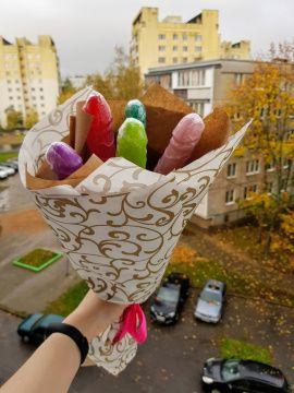 Букет 18+ Из фаллосов в Stranamasterov.by Беларусь.