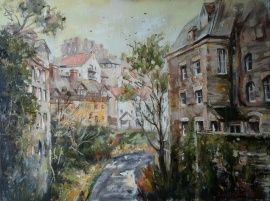 Картина Эдинбург в Stranamasterov.by Россия.