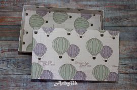 Коробка для подарка Воздушный шар в Stranamasterov.by Беларусь.