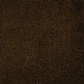 Трикотаж бархат плотный 50*50см, тёмно-коричневый, 25187 Россия.