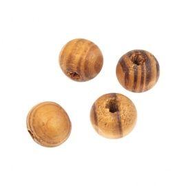 Деревянные бусины, микс, 9*10мм, упаковка 30шт, WDB0019, АСТРА Россия.
