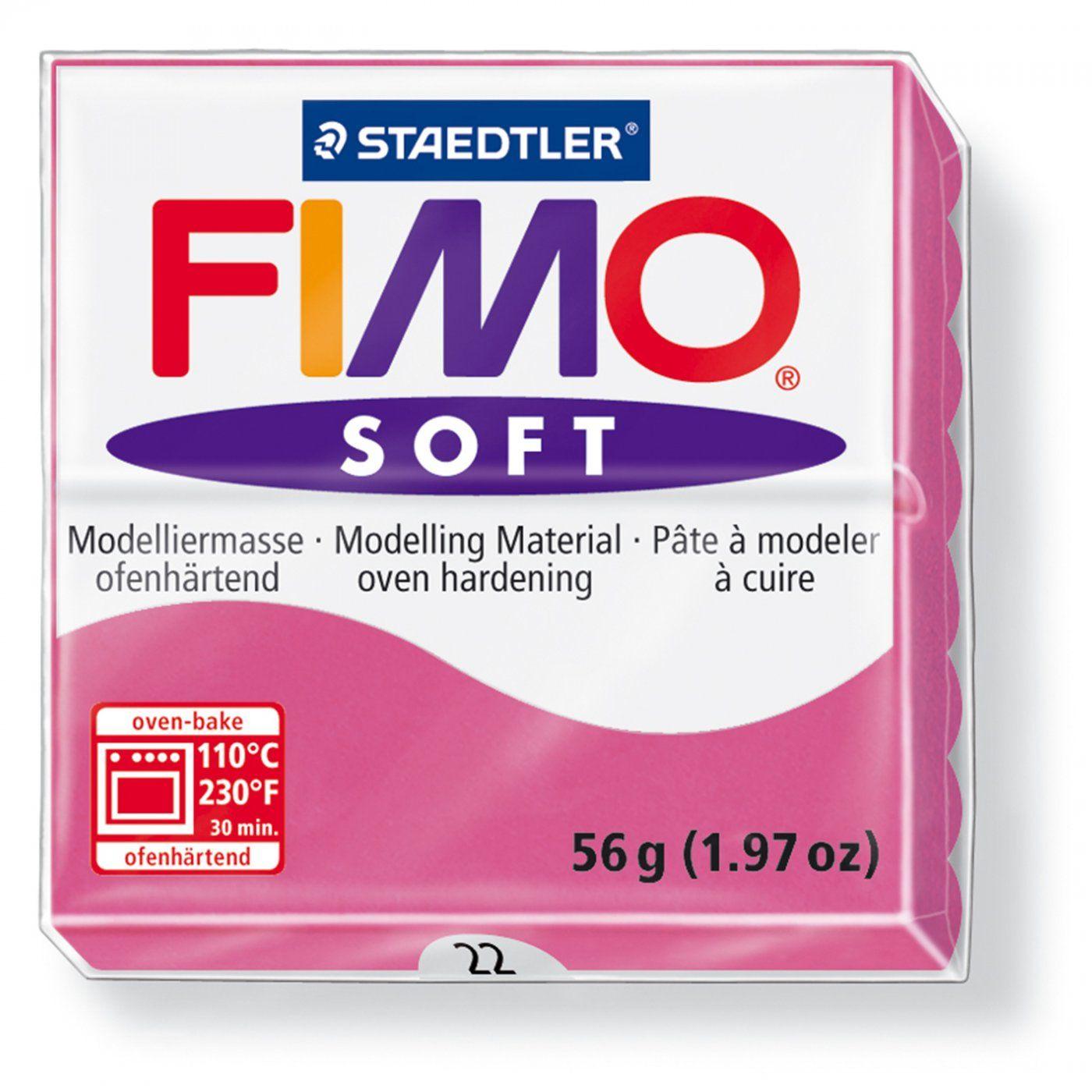 Полимерная глина FIMO SOFT Малиновый 8020-22 57гр