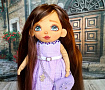 Текстильная кукла Кристина в Stranamasterov.by