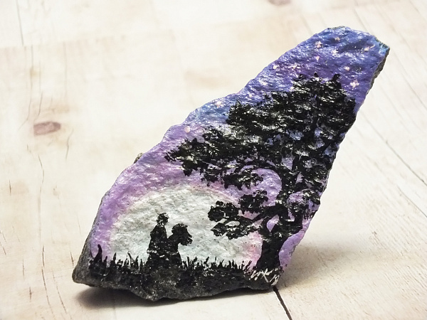 Сувенирный камень «Двое» в Stranamasterov.by