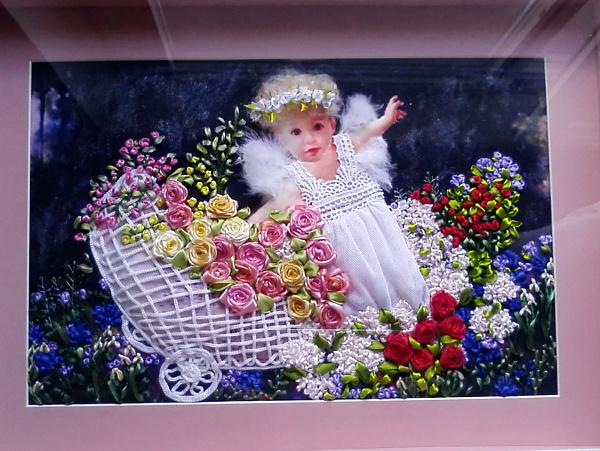 Картина Ангелочек в саду в Stranamasterov.by