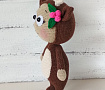 Амигуруми кукла Бонни В костюме Оленёнка в Stranamasterov.by