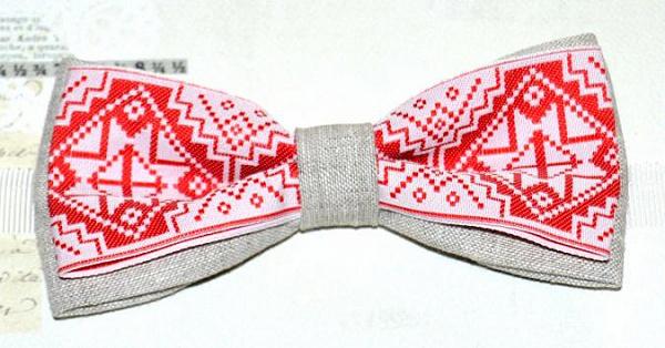 Галстук-бабочка Белорусская в Stranamasterov.by