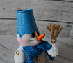 Интерьерная кукла Снеговичок Макарушка в Stranamasterov.by
