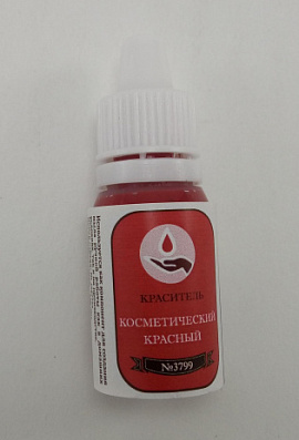 Краситель Blue Covarine красный капельница 10г Беларусь.