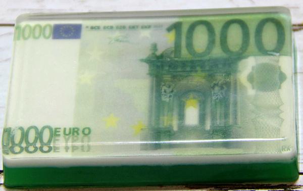 Сувенирное мыло 1000 евро в Stranamasterov.by