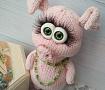 Мягкая игрушка Свинка в Stranamasterov.by
