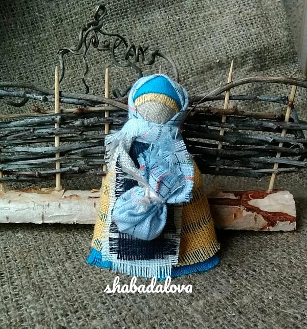 Народная кукла мотанка Подорожница в Stranamasterov.by