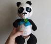 Игрушка вязаная Панда в Stranamasterov.by