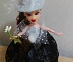 Кукла-шкатулка Барышня в шляпке в Stranamasterov.by